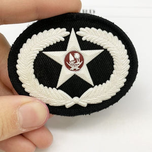 Silicone Cap Badge
