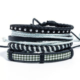 2019 (12 Choices) Of Style's of Metal Leather Bracelets ( UNISEX ) FREE SHIPPING!
