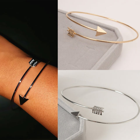 2019 Adjustable Arrow Cuff Bangles Gothic Feather Wristband  HOT! FREE SHIPPING! FREE SHIPPING!