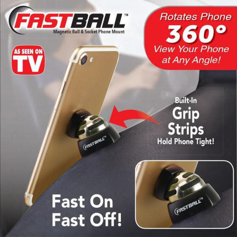 2020 Fastball Magnetic Car Cell Phone Mount FREE SHIPPING!