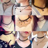 2019 New Styles Bijoux Love Vintage Triangle Geometry Choker Necklace