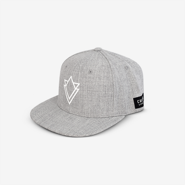 Gorra Snapback Center white