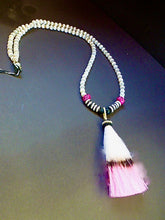 Load image into Gallery viewer, PINK TASSEL