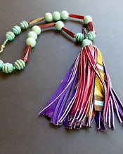Load image into Gallery viewer, AFRICAN TASSEL-1