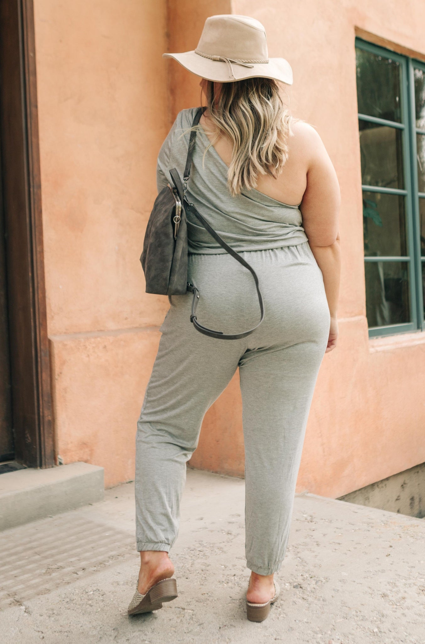 Arm And A Leg Jumpsuit In Gray