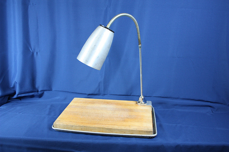 Carving Board and Tray w/ 1 lamp