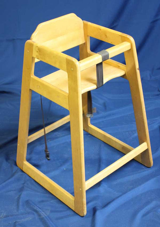 Wood High Chair, no tray