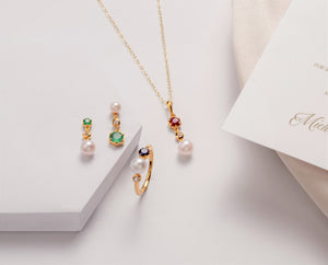 Modern Pearl & Gemstone Jewellery Sets