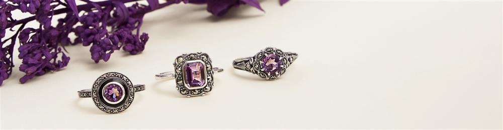 Amethyst February Birthstone Sample Image