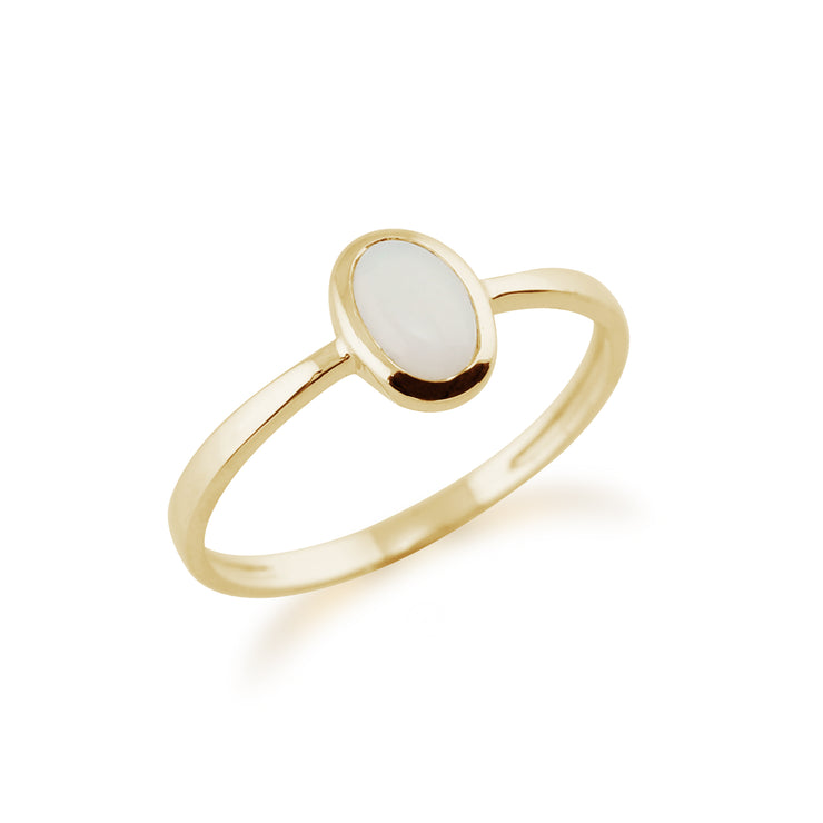Opal Ring in 9ct Yellow Gold