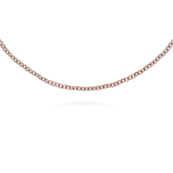 Rose Gold Plated Shield Marcasite Chain Bracelet in 925 Sterling Silver