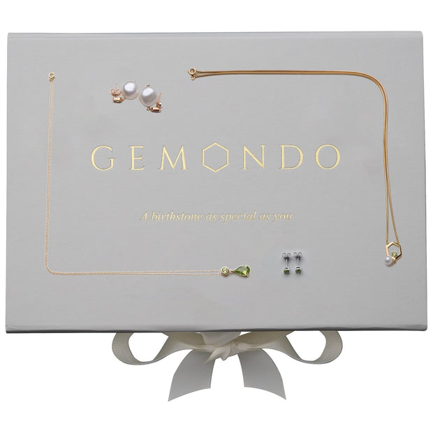 August Birthstone Peridot Jewellery Hamper