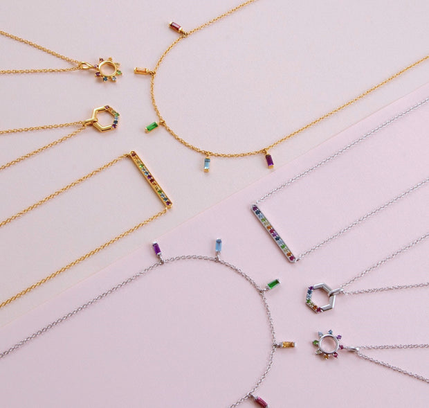 Rainbow Collection Necklaces & Pendants