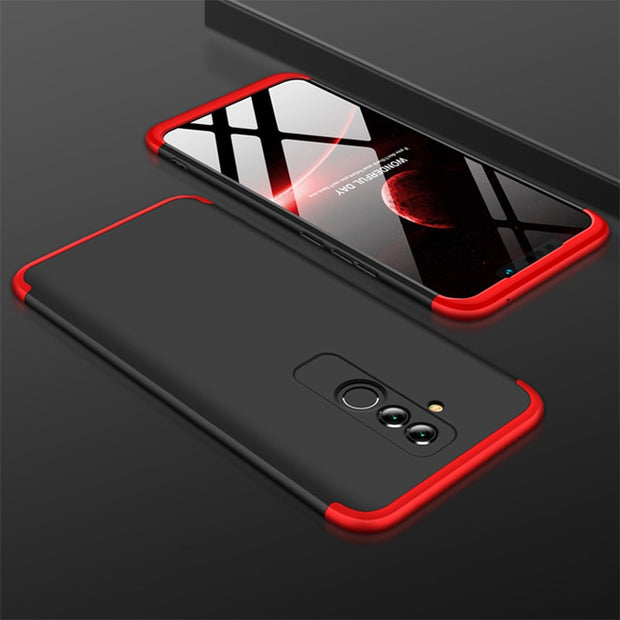 Black and red case