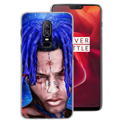 335DF Xxxtentacion Hard Phone Shell Cases Cover For Oneplus 5T 6 6T Phone Case