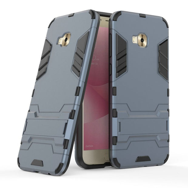"3D Combo Armor Case For Asus Zenfone 4 Selfie Pro ZD552KL Z01MD Z01MDA 5.5"" Shockproof Phone Back Cover Case Fundas Coque Etui>"