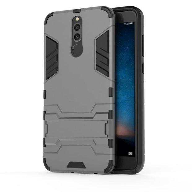 3D Combo Armor Case For Huawei Nova 2i RNE-L01 RNE-L21 RNE-L02 RNE-L22 For Huawei Mate 10 Lite Shockproof Phone Back Cover Case