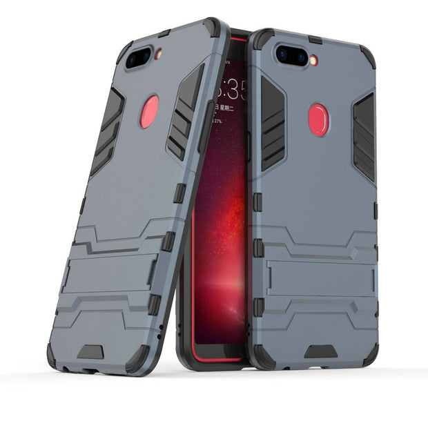 3D Combo Armor Case For Oppo R11s R11 S CPH1719 For Oppo R11s Plus Shockproof Phone Back Cover Case Fundas Coque Etui>
