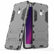 3D Combo Armor Case For Samsung Galaxy A8 2018 A8 Plus 2018 A8+ A530F A530 A6 2018 A6 Plus 2018 Shockproof Phone Back Cover Case