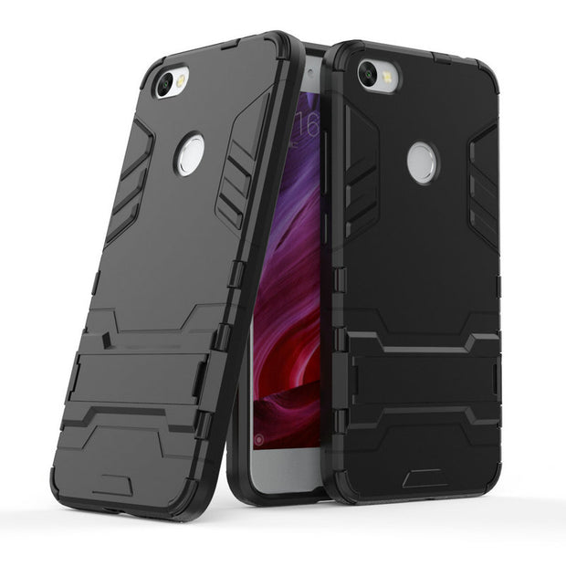 3D Combo Armor Case For Xiaomi Redmi Note 5A 2GB 16GB Y1 Lite Redmi Note 5A Prime Y1 32GB 64GB Shockproof Phone Cover Case