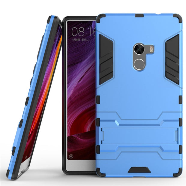 3D Luxury Combo Armor Case For Xiaomi Mi Mix For Xiaomi Mi Mix 2 Mix2 Evo 64GB 128GB 256GB Shockproof Back Cover Case Shell