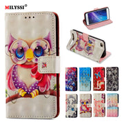 3D Painted Luxury Flip Wallet Case For Xiaomi RedMi 5A Book Flip Style High Quality Mobile Phone Cases For Redmi 5A Stand Cover