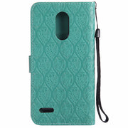 3D Vines For LG Stylus Stylo 3 Plus PU Leather Mobile Case Phone Shell For LG K10 Pro Wallet Flip Stand Cover LS777 M400 Stylus3