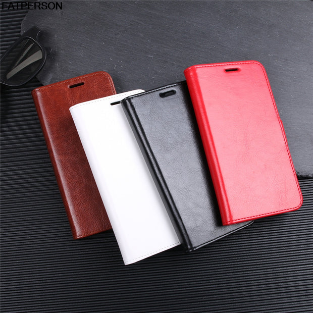 5.9 Inch Case Phone Bracket Luxury PU Phone Case For Motorola MOTO X4 Multi-function Protection Smart Cover Soft Wallet