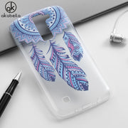 AKABEILA Fashion Painted TPU Soft Cases For LG K8 LG K350ds K Series K8 LTE K350 PHOENIX 2 K371 Escape 3 K373 Case Back Cover