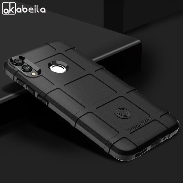 100% authentic 2120b b6389 AKABEILA For Huawei Mate 20 20 Pro Lite Case Rugged Armor Soft Back Cover  Case Huawei Honor 8C 8X Max Phone Bumper Y9 2019