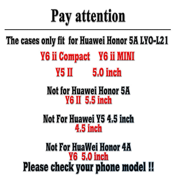 AKABEILA For Huawei Y5II Y5 II Y6 Ii Compact Y6 Ii MINI CUN-U29 Honor 5A LYO-L21 Honor Play 5 Case Heyqie Thin Painted TPU Cover