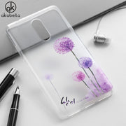 AKABEILA For Lenovo Vibe K6 Note K6NOTE Case Heyqie Thin Painted TPU Silicone Back Phone Cover Case Dirt-resistant Protector Bag