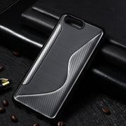 AKABEILA S Line Mobile Phone Cases For Oneplus 5 One Plus 5 A5000 5.5 INCH Case Silicone Soft TPU Covers Simple Elegant Bags