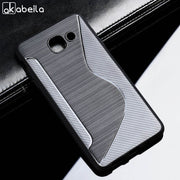 AKABEILA Sline TPU Soft Cover For Samsung Galaxy J7 Max On Max G615F SM-G615F G615 G615F/DS 5.7inch S Line Cases Coque