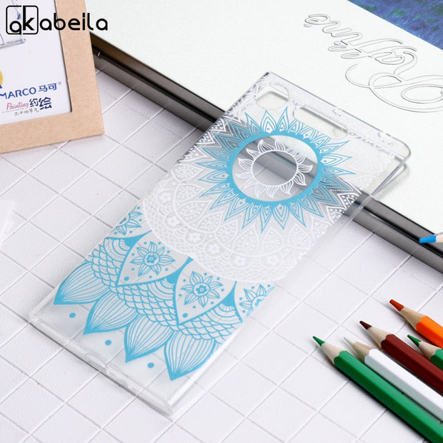 AKABEILA Soft Case For Sony Xperia XZ1 Silicon Cases Anti Knock Cover G8341 F8342 Covers For Sony XZ1
