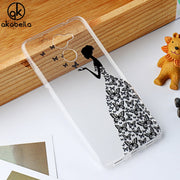 AKABEILA Soft TPU Phone Case For Huawei Y7 Prime Phone Cover Huawei Enjoy 7 Plus TRT-AL00A Holly 4 Plus Silicon Cases Back Funda