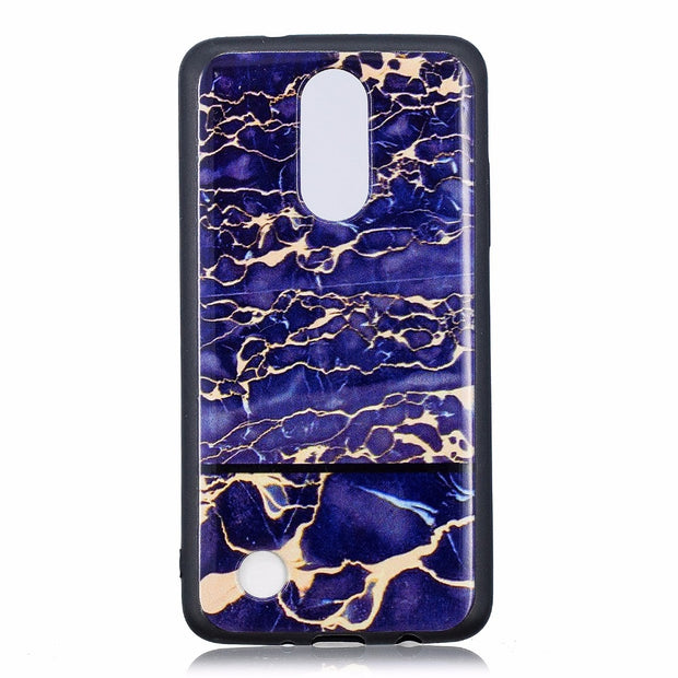 ARYIKUM Cartoon Phone Cases For LG K8 2017 LGK8 2017 US Silicone Marble Back Cover Coque For LG K4 2017 LGK4 2017 US Funda Etui