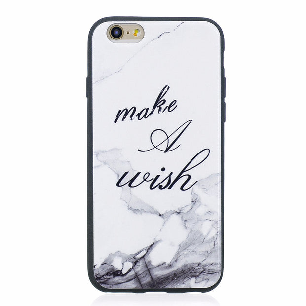 ARYIKUM For Iphone 6 6s 6 S Case Marble Stone Painte Soft Silicone Case Dog Phone Accessories Coque Cover For Ipone 6 Capinha