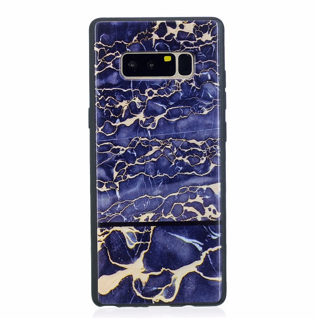 ARYIKUM Luxury Marble Case For Samsung Galaxy Note 8 Note8 Phone Accessories Coque Cover For Samsung Note 8 Sansung Note 8 Etui