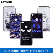 ARYIKUM Marble Case For Xiaomi Redmi Note 5A Pro 3gb 32gb 4gb 64gb Silicone Cover For Xiao Redmi Y1 Xaomi Xiami Xiomi Note 5A