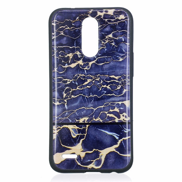 ARYIKUM Silicon Case For Etui LG K10 2017 M250 LG-M250 Luxury Marble Stone Pattern Phone Cover For LG K 10 2017 LGK10 2017 Coque