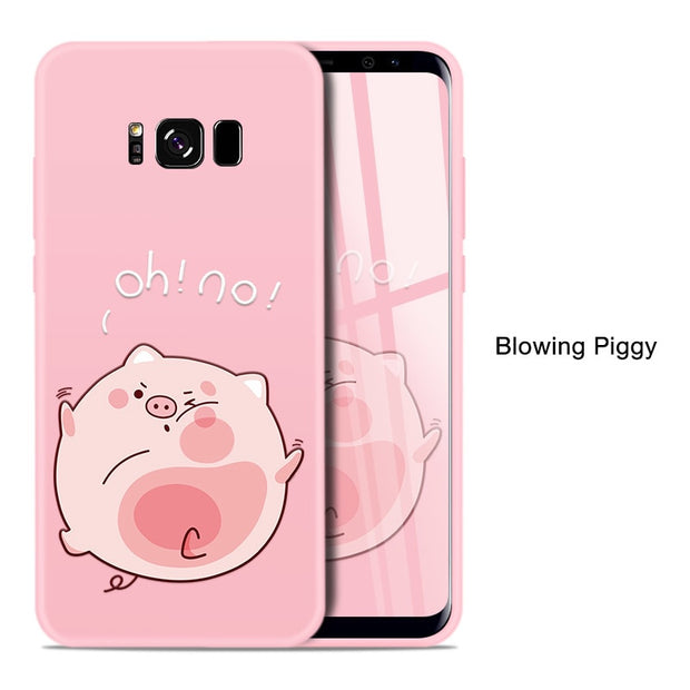 Blowing piggy