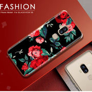 ASTUBIA Case For Blackview S8 5.7 Cover For Blackview S8 Case Silicone Fashion Cat Flower Painted Funda For Blackview S8 4g Case