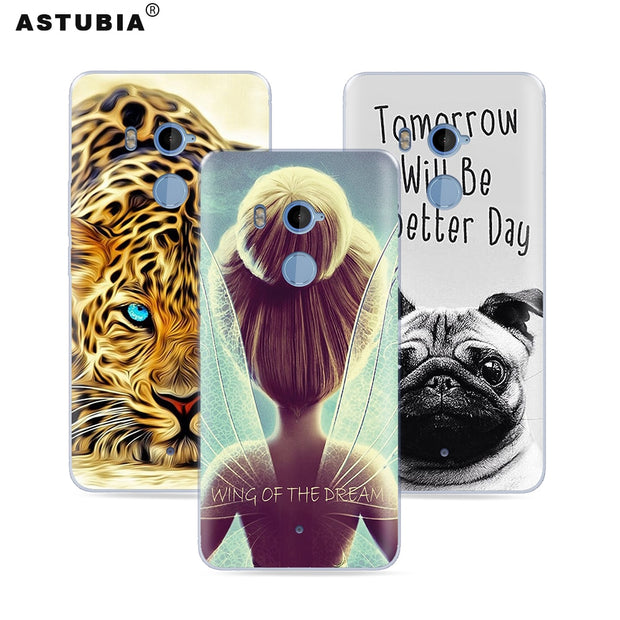 ASTUBIA Case For HTC U 11 Plus Cover For HTC U11 Plus Case Silicone Fashion DIY Name Flower Cute Coque For HTC Desire 626 Case