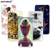 ASTUBIA Case For Huawei Honor 6C Pro Case For Honor V9 Play Case Silicone BullDog DIY Name Coque For Honor 6C Pro Cover 5.2""