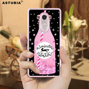 ASTUBIA Glitter Liquid Case For Xiomi Xiaomi Redmi 5 Case Drink Bottle Capa For Xiaomi Redmi 5 Plus Case For Xiomi Redmi 5a Case
