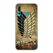 Anime Japanese Attack On Titan Phone Case Cover For Huawei Nova 2i 3 3e 3i 4 Mate 10 20 Lite P20 Pro P20 Lite Hard PC Phone Case