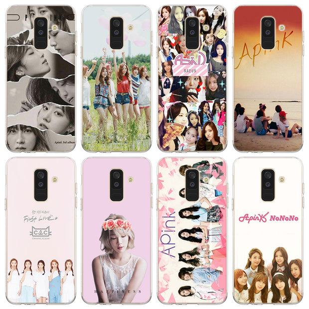 Apink Naeun Phone Case For Samsung Galaxy J2 J3 J4 Plus J5 J6 Plus J7 J8 2018 Soft Silicone Cases Cover