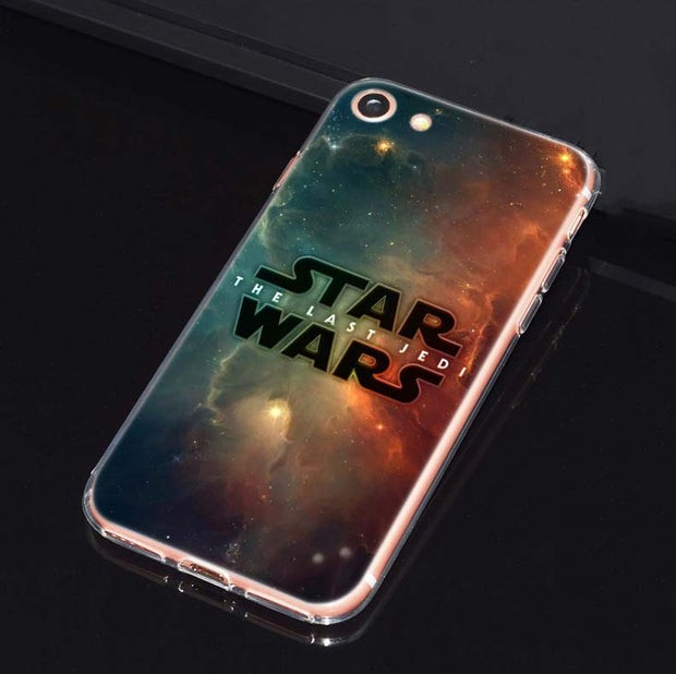 BINYEAE Star Wars R2D2 Transparent Soft Shell TPU Case Cover For