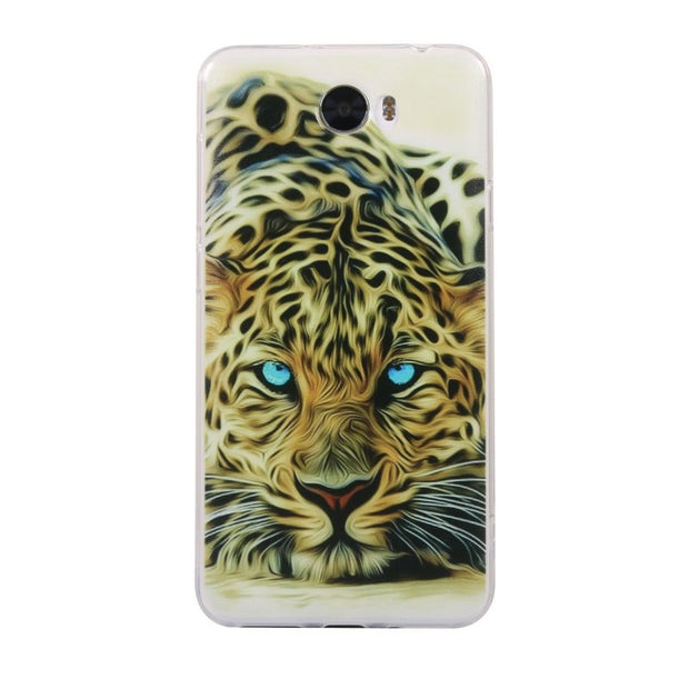 Back Case For Huawei Y6 II Compact / Honor 5A LYO-L21 / Y5II Y5 2 Ll 5.0 Inch Soft Silicone Cover TPU Gel Case Coque Etui Fundas